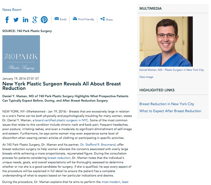 board certified plastic surgeon in NYC,breast reduction,mastopexy,breast reduction recovery,dr maman